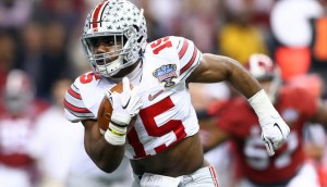 Ezekiel Elliot has already rushed for over 200 yards and has yet to even really get going.