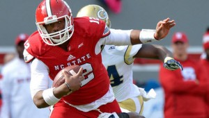 Jacoby Brissett is entering his senior season and looks to build on a 2,606 yard passing season last year.