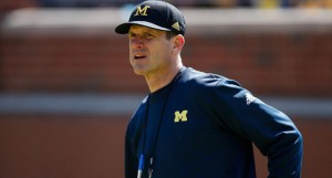 Jim Harbaugh has tried to keep his team focused following a heartbreaking loss to Michigan State two weeks ago.
