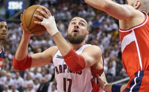 Jonas Valanciunas is one of three Raptors with a PER above 20.