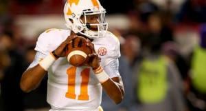 Joshua Dobbs is a dangerous enough dual-threat that the Vols cannot be counted out this early in the season at 2-2.