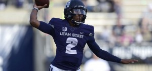 Utah State is a 7.5 point favorite against Akron in the Famous Idaho Potato Bowl Tuesday in Boise.