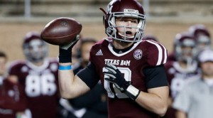 Texas A&M looks to improve on an 8-5 season from last year.