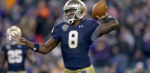 Notre Dame looks to improve on an 8-5 season last year.