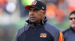 Marvin Lewis is 100-90 in his 12 NFL seasons with the Bengals dating back to 2003.