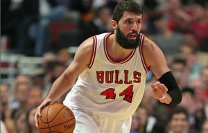 Nikola Mirotic is hitting under 40 percent from the floor this season.