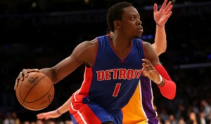Reggie Jackson is averaging 19 points per game this season for the 23-20 Pistons.