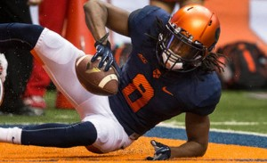WR Steve Ishmael should be in for a huge season and be the biggest beneficiary of the scheme changes under first-year coach Dino Babers.
