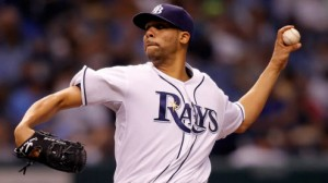 Tampa Bay Rays SP David Price hasn't enjoyed previous appearances at Rangers Ballpark in his career