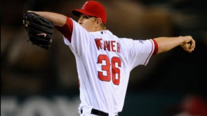 Los Angeles Angels SP Jered Weaver has dominated the Texas Rangers in Southern California