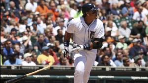 Detroit Tigers 3B Miguel Cabrera could potentially win the Triple Crown for a second consecutive season