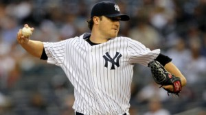 The New York Yankees are 3-2 on the road with the money line between -100 and -125
