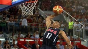 USA basketball Vs Croatia