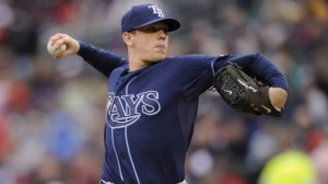 The Tampa Bay Rays are 4-3 at home with a money line of -100 to -125 in 2013