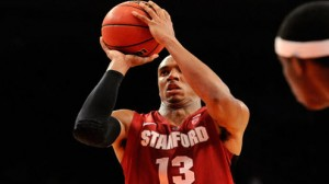 Stanford is a 4 point favorite against Vanderbilt in the NIT quarterfinals.