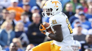 The Tennessee Volunteers have lost 18 consecutive road games versus ranked opponents