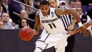 Michigan State is a slight favorite over Oklahoma in the Sweet 16 Friday.