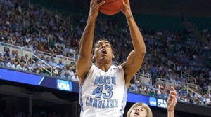 North Carolina is a 22 point favorite against Virginia tech Sunday.