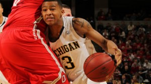 Michigan is a heavy favorite against Wofford Thursday in the Midwest region second round in Milwaukee.