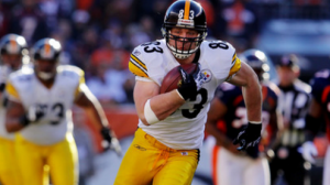 Heath Miller is No. 3 for the Steelers in receiving yardage and has three TDs on the season.
