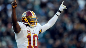 RG3 is back in the lineup after missing the opener.