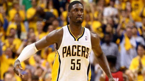 Hibbert scored 1 point less in game 2 than he had in the EIGHT games prior.