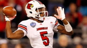 Louisville is favored to beat Miami in the Russell Athletic Bowl Saturday in Orlando.