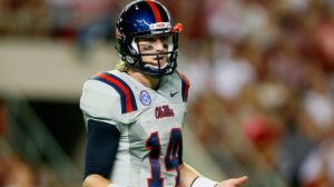 The Mississippi Rebels are coming off their biggest win in school history last week