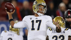 UCLA is favored on the road against California in a battle of 4-2 Pac 12 teams.