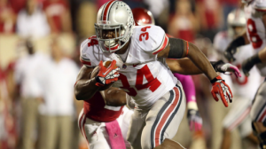 The Ohio State Buckeyes have the best offense in the Big Ten Conference