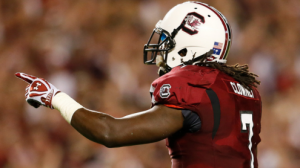 The South Carolina Gamecocks are 6-7 ATS on the road since 2011