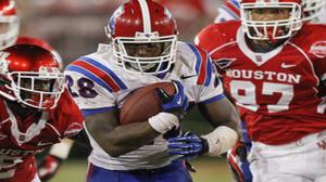 Kenneth Dixon has nine rushing TDs for the Bulldogs this season.