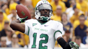 Marshall is a 5 point favorite at Rice in the Conference USA Championship game.