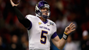 Shane Carden has been sensational in leading East Carolina to a #23 ranking in AP polls.