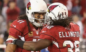 The Cardinals are 7.5 point favorites against the Jets Monday night.