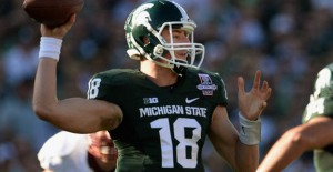 Connor Cook has led the Spartans to a No. 4 ranking in the polls.