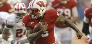 Runningback Corey Clement has rushed for 1,040 yards this season for the Badgers.