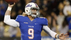 Dane Evans and the Golden Hurricane averaged 333.2 passing yards per game in 2015.