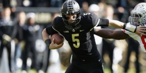 Danny Etling and the Boilermakers are 3-point underdogs on the road at Indiana this week in college football odds.
