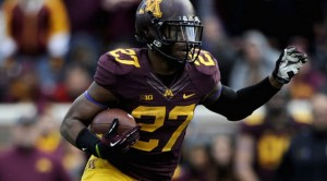 The Minnesota Golden Gophers try to control the football with a punishing ground attack