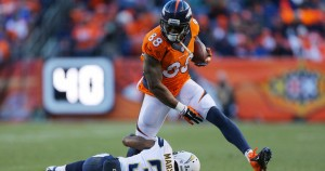 The 2-0 Denver Broncos travel to the 0-2 Detroit Lions Sunday night.