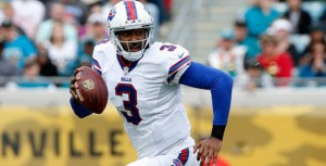 The Bills are four point favorites against the Jaguars Sunday in London.