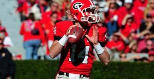 The Georgia Bulldogs lead the SEC in scoring offense
