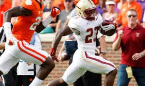 The Boston College Eagles have controlled the line of scrimmage in 2014