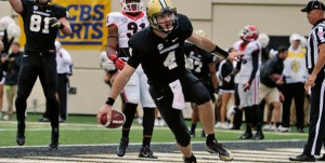 Robinette is one of four Vandy QBs, but he hasn't made an appearance in the last four games.