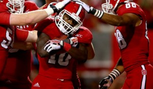 The NC State Wolfpack are 0-5 SUATS as underdogs of 3.5 to 10 points since 2012