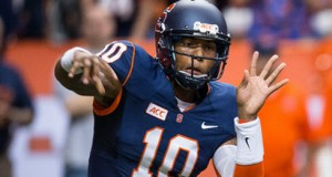 Terrel Hunt wants to focus on being more of a pocket passer this season.