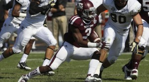 The Texas A&M Aggies will look to snap a three-game losing streak