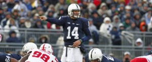 Christian Hackenberg (pictured) graduated and PSU will turn to Trace McSorley to replace him at QB.