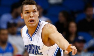 Aaron Gordon had 20 points and 16 rebounds last night against the Golden State Warriors.